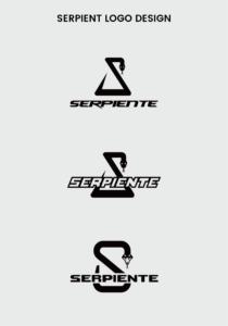 ロゴデザイン 佐賀 セルピエンテ 蛇